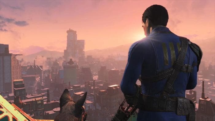 fallout 4 - hero and his dog