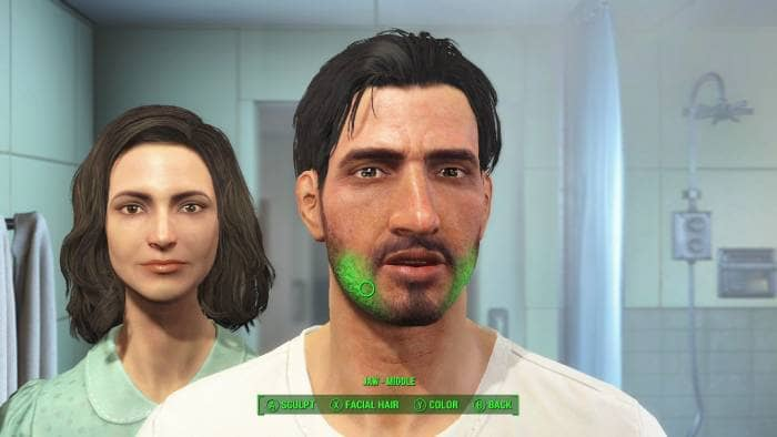 Fallout 4 - the characters
