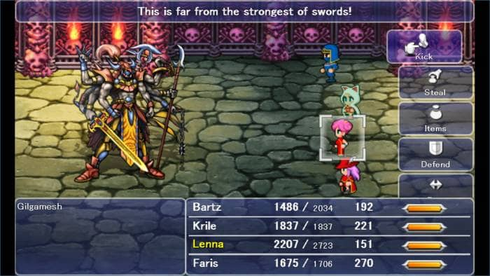 Final Fantasy V Battle (remake)