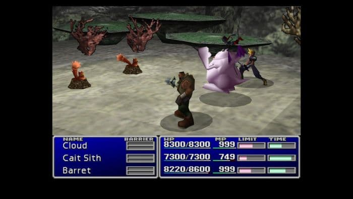 Final Fantasy VII & Final Fantasy VIII Double Pack - gameplay