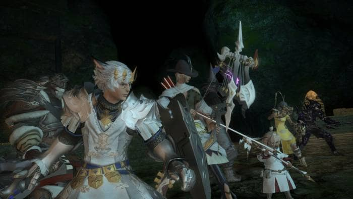 FINAL FANTASY XIV ONLINE - gameplay
