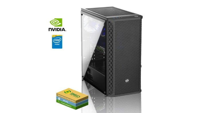 Gaming PC: Intel Core i5-9400F and Nvidia GeForce GTX 1660 OC
