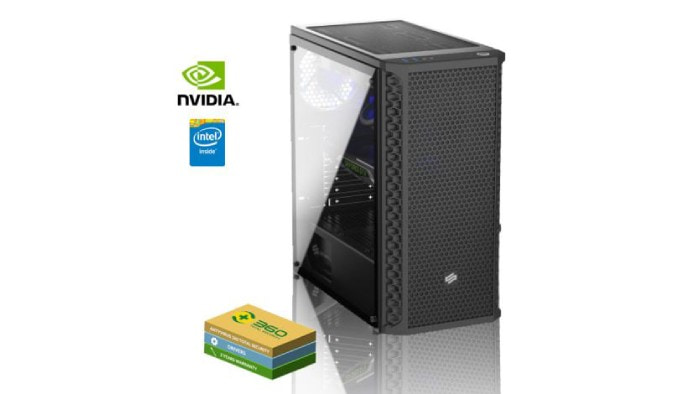 Gaming PC with GTX 1660 OC