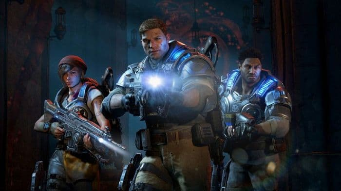 Gears of War 4 - the main characters