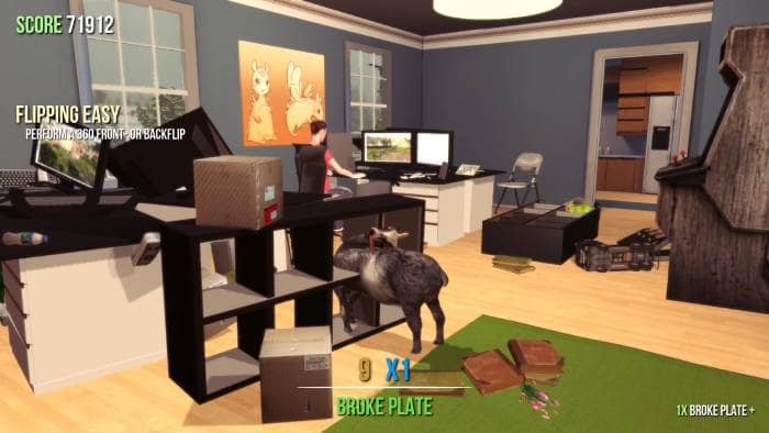 Goat Simulator: GOATY - gameplay