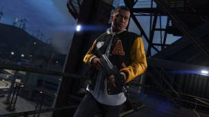 Grand Theft Auto V - one of the protagonists