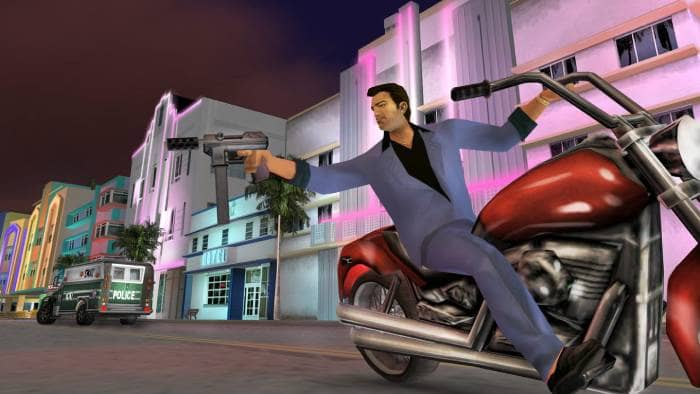 Grand Theft Auto: Vice City - bike