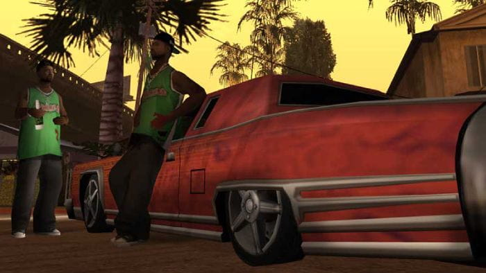 Grand Theft Auto San Andreas - characters