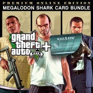 GTA V: Premium Edition Megalodon Shark Card