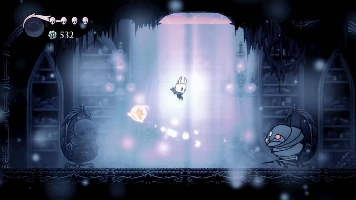 Hollow Knight Fighting