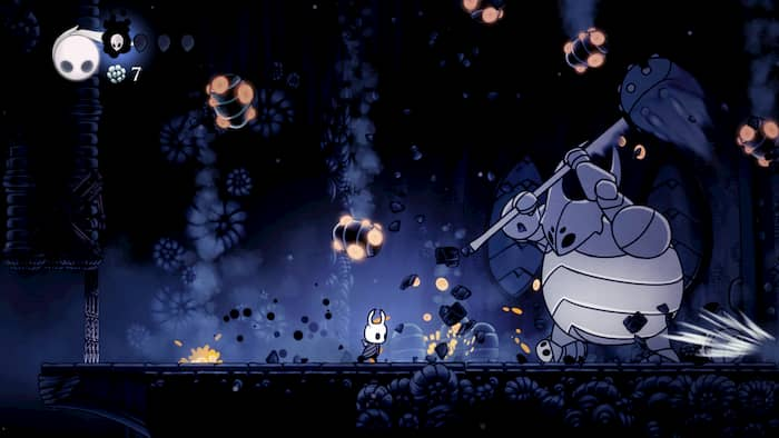Hollow Knight - boss fight
