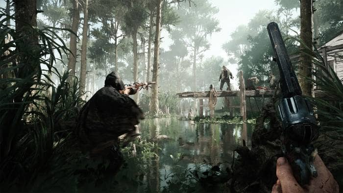 Hunt: Showdown - shooting