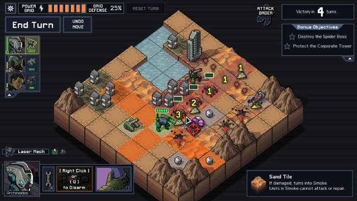 Into the Breach - gameplay