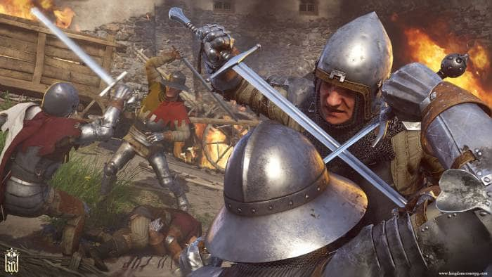 Kingdom Come: Deliverance - fighting