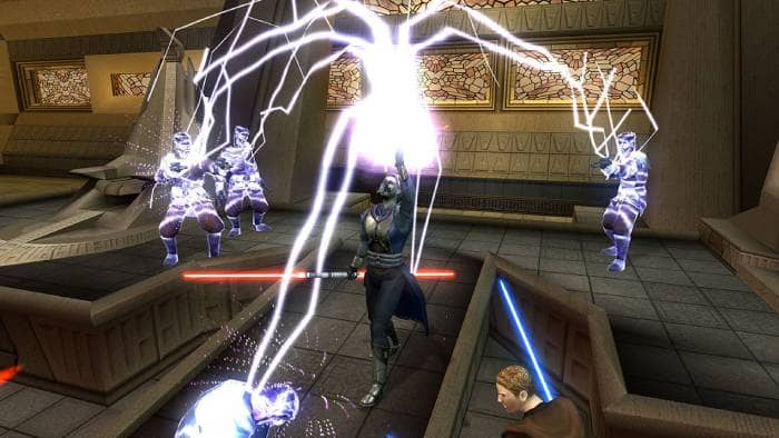 STAR WARS Knights of the Old Republic II - lighting