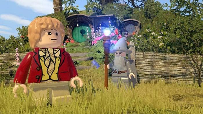 LEGO The Hobbit - the main characters