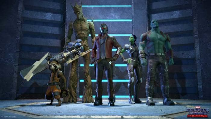 Marvel's Guardians of the Galaxy: The Telltale - main characters