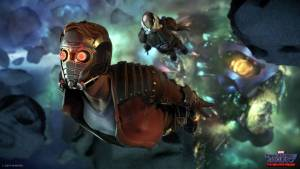 Marvel's Guardians of the Galaxy: The Telltale Series - flight