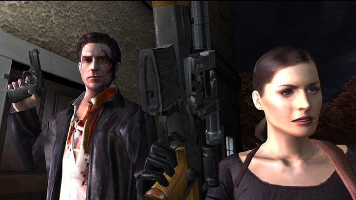 Max Payne 2: The Fall of Max Payne - the main characters.