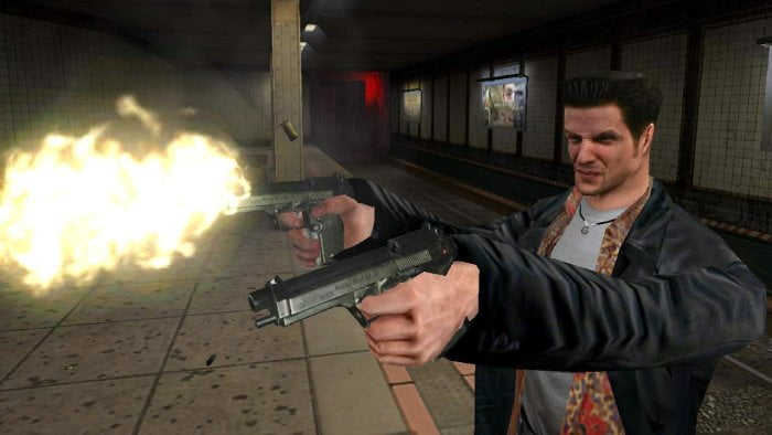 Max Payne - shoot and guns