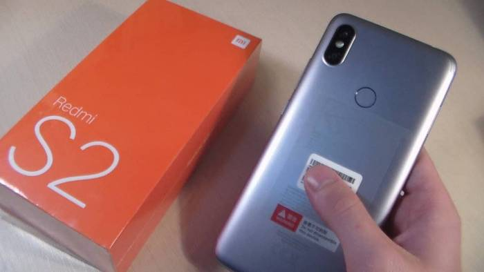 Xiaomi Redmi S2 blue, 4/64GB