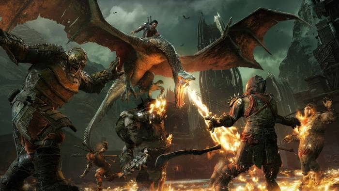 Middle-earth: Shadow of War - fighting