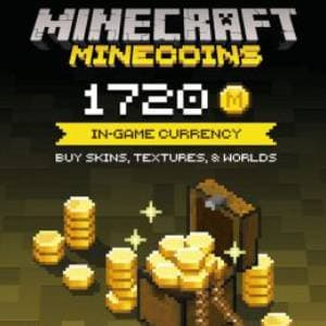 Minecraft: Minecoins Pack XBOX 1720 Coins