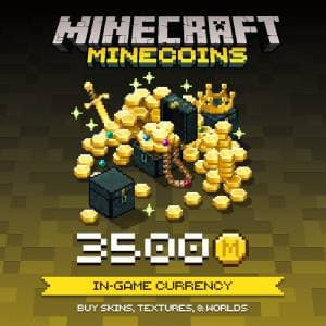 Minecraft: Minecoins Pack XBOX 3 500 Coins