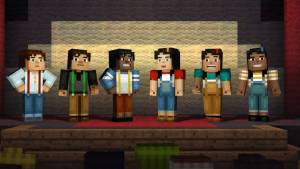Minecraft: Story Mode - A Telltale Games Series characters
