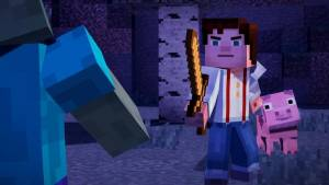 Minecraft: Story Mode - A Telltale Games Series the main character