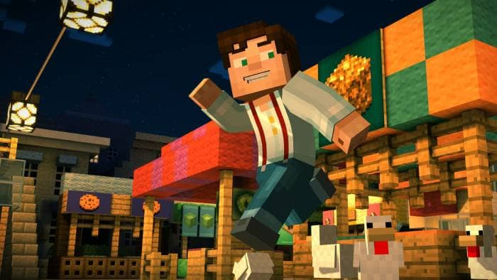 Minecraft: Story Mode - A Telltale Games Series - protagonist