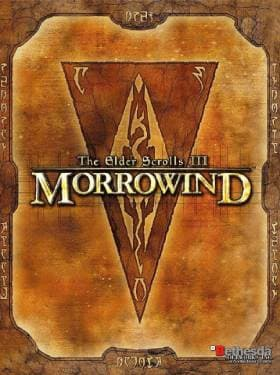 the elder scrolls 3 morrowind box cover