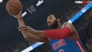 NBA 2K17 gameplay