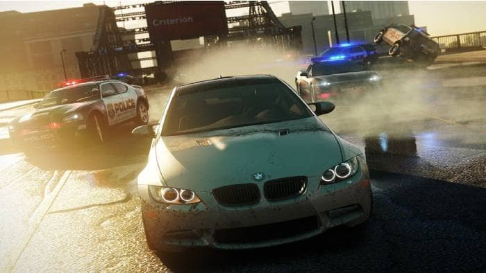 Need for Speed: Most Wanted - gameplay