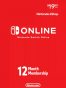 Nintendo Switch Online 12 Months Membership