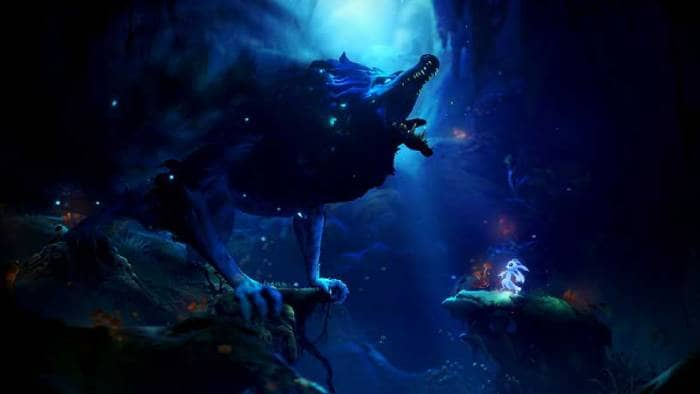 Ori and the Will of the Wisps - game screen