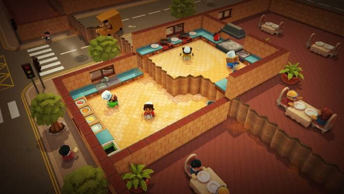 Overcooked - the kitchen