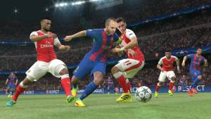 Pro Evolution Soccer 2017 - gameplay