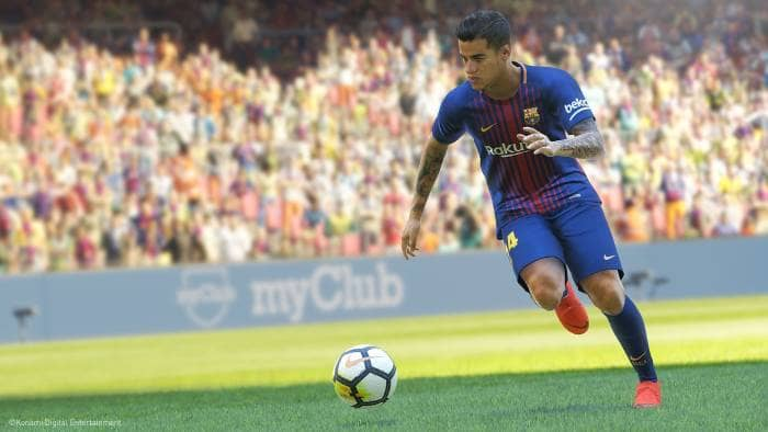 Pro Evolution Soccer 2019 - gameplay