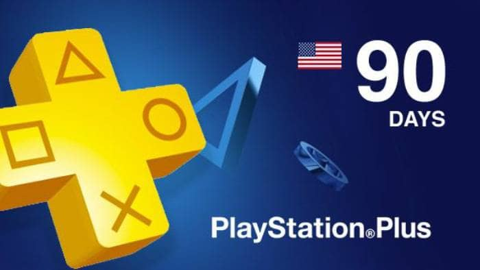 Playstation Plus CARD 90 Days
