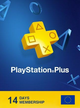 Playstation Plus Trial CARD 14 Days EUROPE