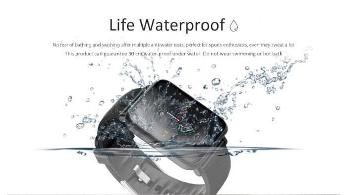 Q9 Waterproof Smart Watch with Heart Rate