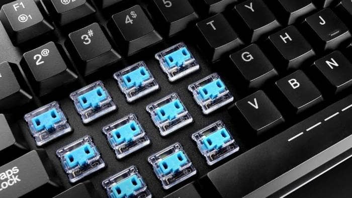 Removing the keycaps PC