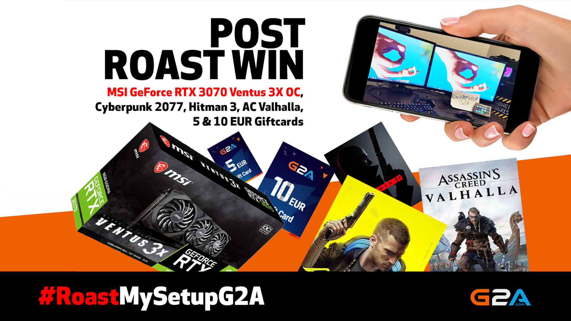 RoastMySetupG2A vol 2