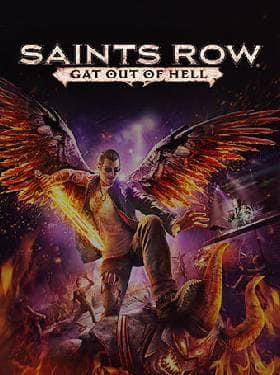 Saints Row Gat out of Hell box cover