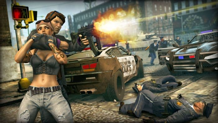 Saints Row: The Third - shooting