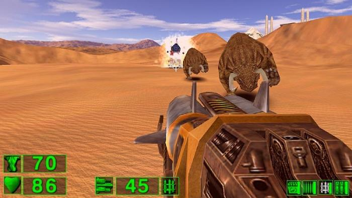 Serious Sam: The First Encounter - shoot