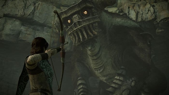 Shadow of the Colossus PS4 - gameplay