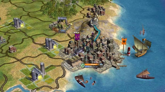 Sid Meier's Civilization IV gameplay