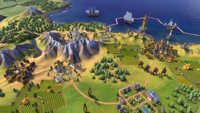 Sid Meier's Civilization VI - the latest instalment